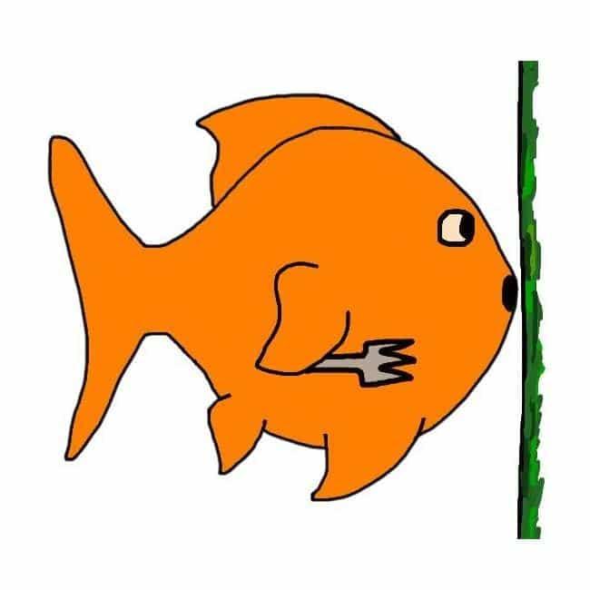 Do goldfish eat algae?