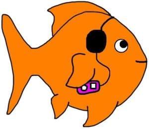 Can goldfish hear?