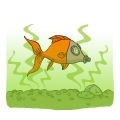 Goldfish tank smell