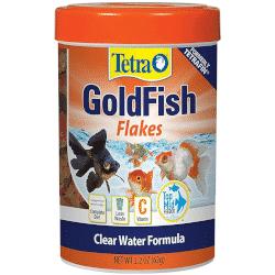 Tetra flakes goldfish food